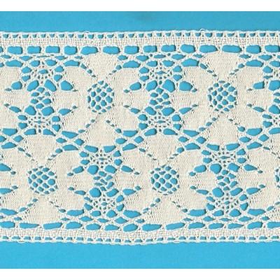 Cotton Lace Trim Cluny Torchon width cm.14.5 pack mt.10 Art.1682