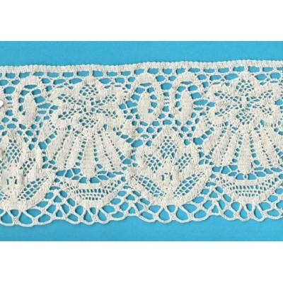 Cotton Lace Trim Cluny Torchon width cm.12 pack mt.10 Art.1654