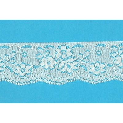 Raschel ivory lace trim rigid width cm.4.4 pack mt.20 art.2800001