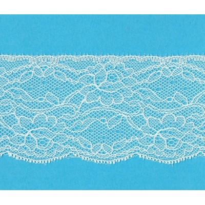 Raschel ivory lace trim rigid width cm.7 pack mt.20 art.1403185