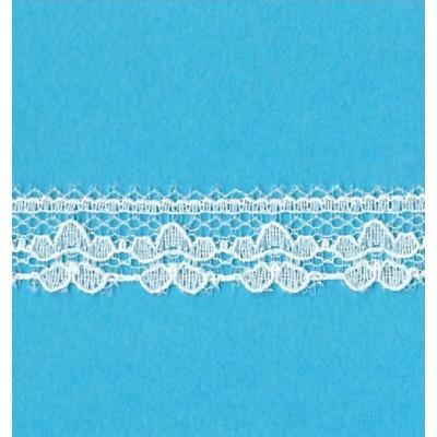 Encaje de nylon valencienne marfil altura cm.1.3 paquete mt.20 Art.1202246