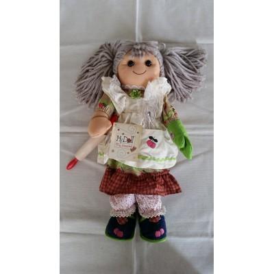 Bambola di pezza altezza cm.42 Mydoll nonna codice BL015