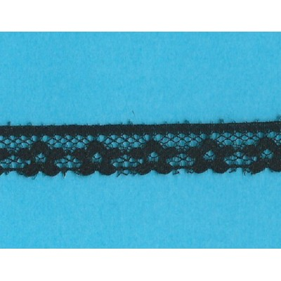 Raschel black lace ribbon width cm.1.3 pack mt.20 art.1202246