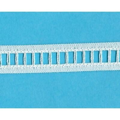 Pizzo valencienne passanastro avorio rigido altezza cm.1.6 confezione mt.20 art.R222