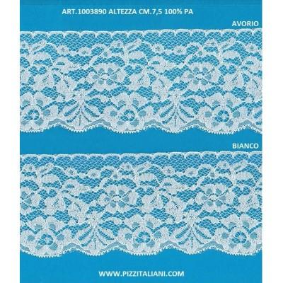 PIZZO VALENCIENNES ALTEZZA 7.5 CM. PEZZA MT.20 ART.1003890