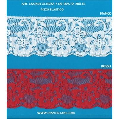 PIZZO VALENCIENNES ALTEZZA 7 CM. PEZZA MT.20 ART.1223450