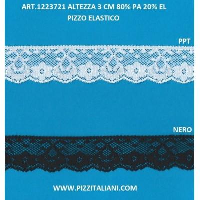 PIZZO VALENCIENNES ALTEZZA 3 CM. PEZZA MT.20 ART.1223721