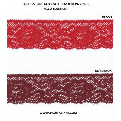 PIZZO VALENCIENNES ALTEZZA 3,6 CM. PEZZA MT.20 ART.1223781