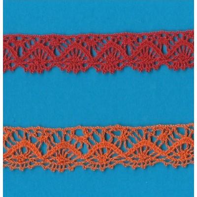 TORCHON TRIM LACE BOBBIN CLUNY CROCHET WIDTH 1.5CM. PACK MT.10 ART.0259