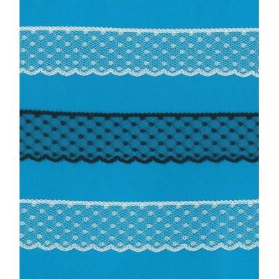 Valenciennes Lace Ribbon width cm.3 pack mt.20 Art.1200487