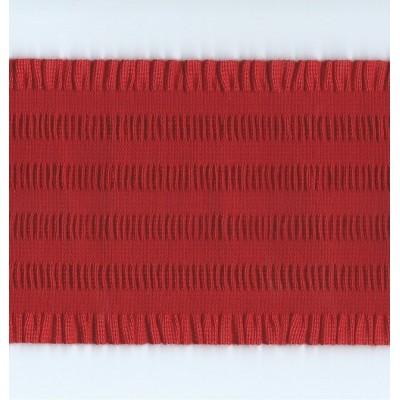 NASTRO ELASTICO BORDO ARRICCIATO ROUCHE ALTEZZA 11 CM PEZZA MT.10 ART.3595