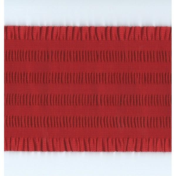 ROUCHE ELASTIC SHIRRED RIBBON HEIGHT CM.11 MT.10 ART.3595