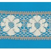 COTTON LACE RIBBON WIDE CM.8,5 PACK MT.10 ART.1667