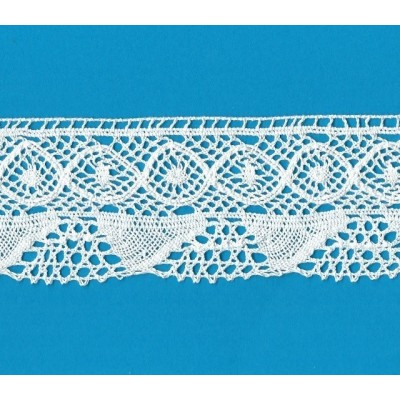 COTTON LACE RIBBON WIDE CM.6 PACK MT.10 ART.1832