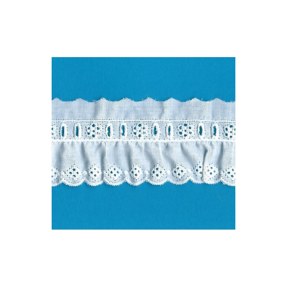 EYELET BRAIDED LACE WIDE CM.5 PACK MT.12.10 ART.51313