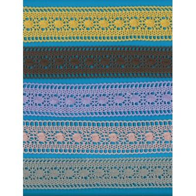 Cotton Lace Trim Cluny Torchon width cm.4 pack mt.10 Art.1308