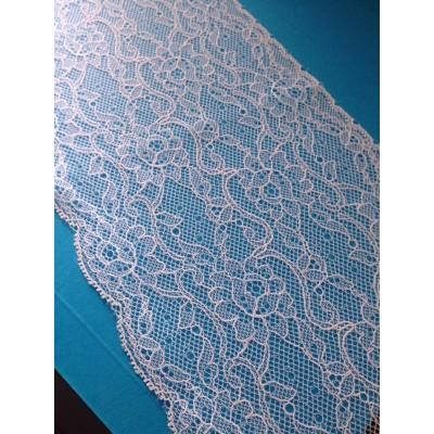 Raschel lace trim rigid width cm.14.5 pack mt.20 art.1403186