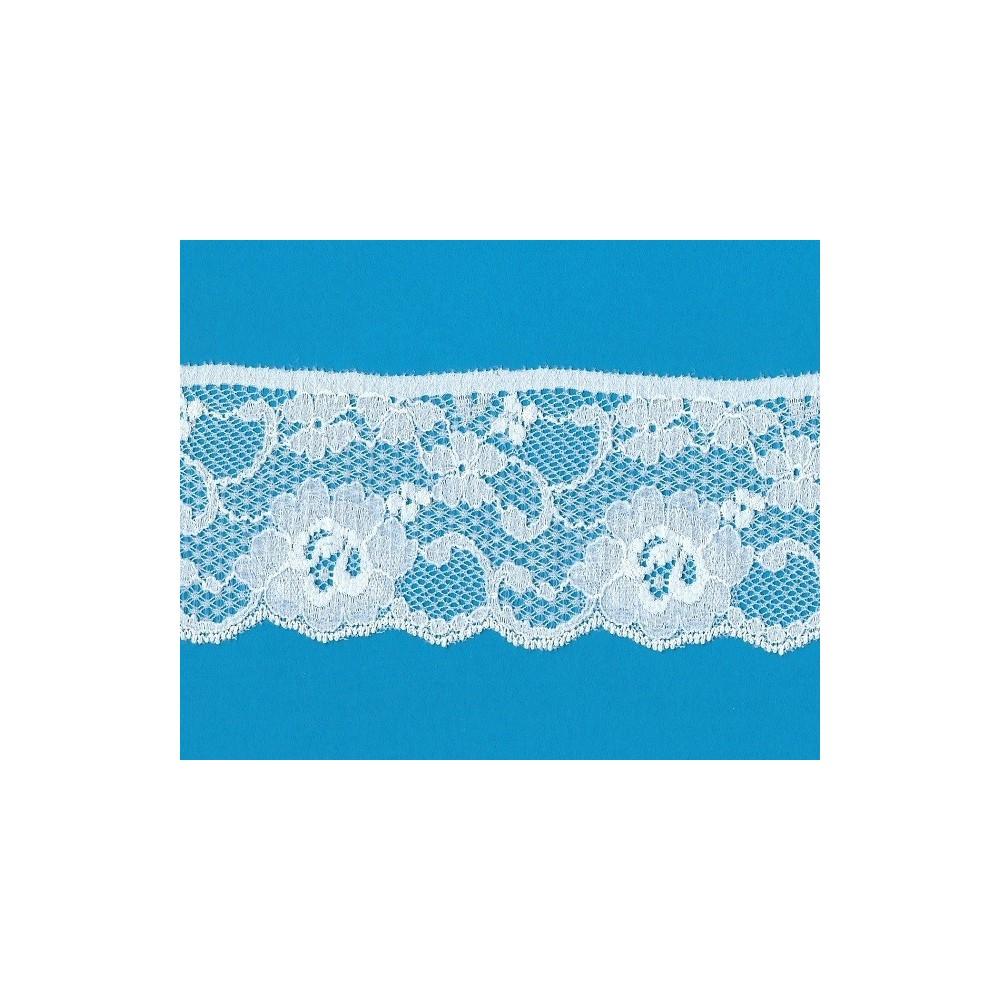 Raschel lace trim elastic width cm.7.5 pack mt.20 art.1000291