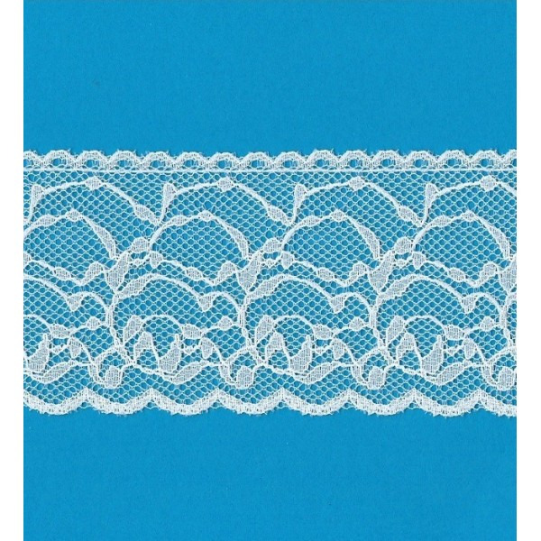 Raschel lace trim rigid width cm.6 pack mt.20 art.1205281