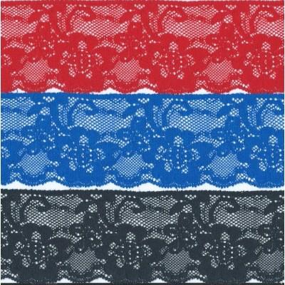Raschel lace trim elastic width cm.7 pack mt.20 art.1223450