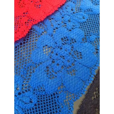 Pizzo valencienne elastico altezza cm7. confezione mt.20 art.1223450