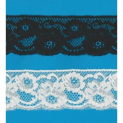 Raschel lace trim rigid width cm.6 pack mt.20 art.1005588