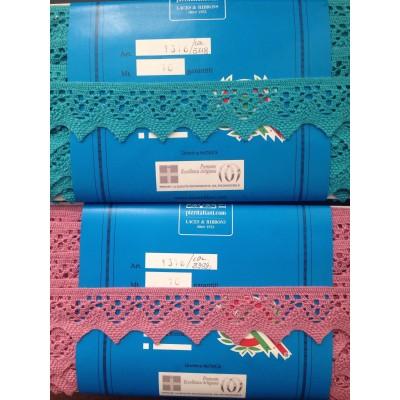 Dentelle Coton Ruban hauteur cm.4 paquet mt.10 Art.1316