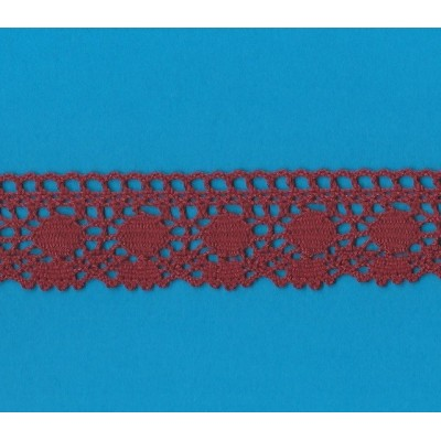 Encaje de algodon altura cm.4 paquete mt.10 Art.1316