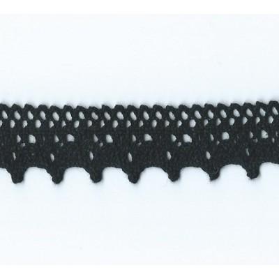 Cotton Lace Trim Cluny Torchon width cm.1.5 pack mt.10 Art.1754