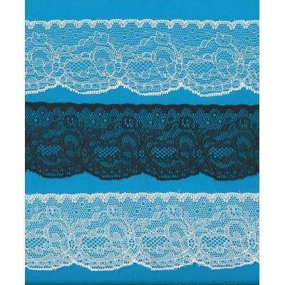 Raschel lace trim width cm.5.5 pack mt.20 art.1005361