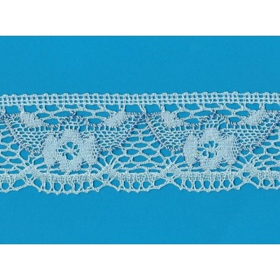 COTTON LACE RIBBON WIDE CM.6 PACK MT.10 ART.1487