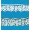 COTTON LACE RIBBON WIDE CM.4 PACK MT.10 ART.1235
