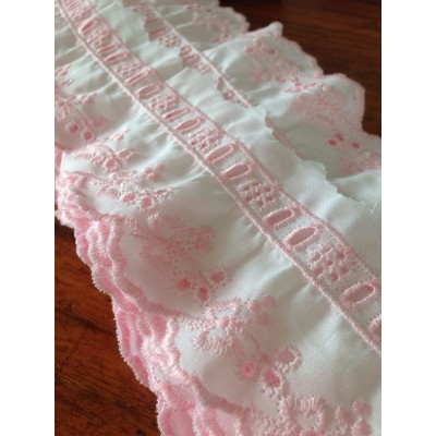 Eyelet Braided Cotton Lace width cm.6 pack mt.12.50 Art.52555