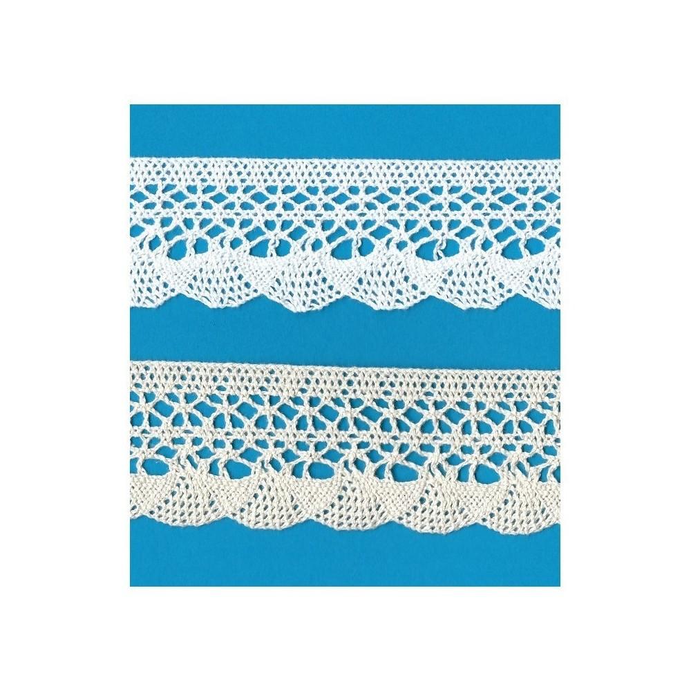 Cotton Lace Trim Cluny Torchon width cm.5 pack mt.10 Art.1675
