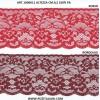Encaje de nylon altura cm.9.2 paquete mt.20 art.1006011