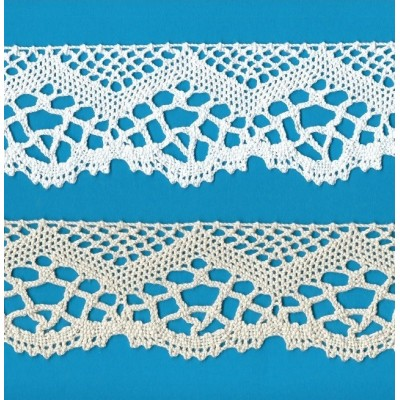Bobbin Lace Heavy Cotton Height cm.6 Package mt.10 ART.1265
