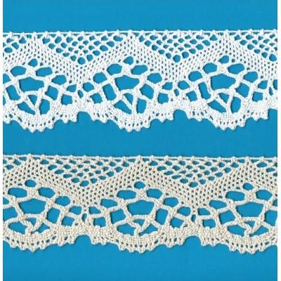 Cotton Lace Trim Cluny Torchon width cm.6 pack mt.10 Art.1265