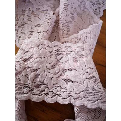 Raschel elastic lace trim width cm.6 pack mt.20