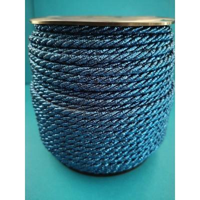 Cordon rond bleu tresse hauteur mm.5 paquet mt.50
