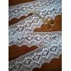 Pizzo Merletto Cotone Bianco Smerlo cm.5.5 mt.10 Art.1505