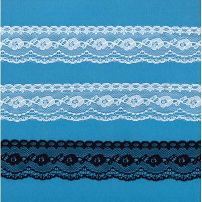 Raschel lace trim width cm.3.8 pack mt.20 art.2200204