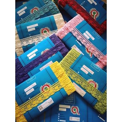 Cotton Lace Trim Cluny Torchon width cm.4 pack mt.10 Art.1306