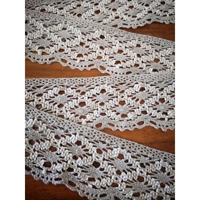 Cotton Lace Trim Cluny Torchon width cm.6 pack mt.10 Art.0611