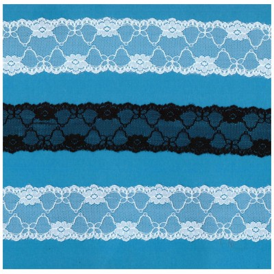 Raschel lace ribbon  width cm.3.5 pack mt.20 art.R245