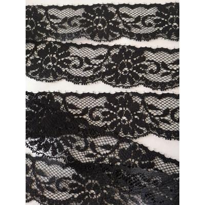 Raschel lace ribbon  width cm.3.5 pack mt.20 art.1403120