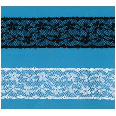 Raschel lace ribbon  width cm.4 pack mt.20 art.1005594