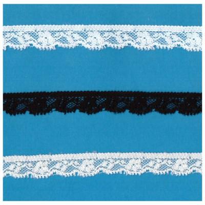 Raschel lace ribbon  width cm.1.7 pack mt.20 art.1003245