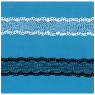 Encaje de nylon valencienne altura cm.3 paquete mt.20 Art.1206520