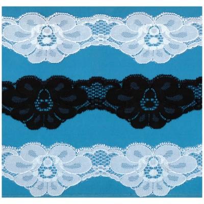 Raschel lace ribbon  width cm.5.8 pack mt.20 art.1202136