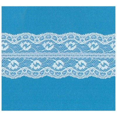 Raschel lace ribbon  width cm.5.5 pack mt.20 art.1202247